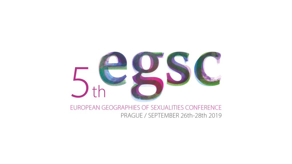 CFP: V European Geographies of Sexualities Conference, Prague, 26-28 September 2017.